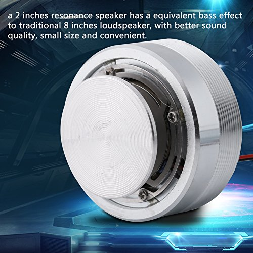 Resonance Speaker,1Pcs 50MM 2Inch All Frequency Resonance Speaker Vibration Strong Bass Louderspeaker (4Ω,25W) by Walfront (Image #3)