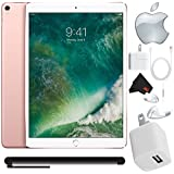 Apple iPad Pro 10.5 inch (64GB, Wi-Fi + 4G LTE, Rose Gold) Mid 2017 Version - Bundle w/Bonus Stylus Pen