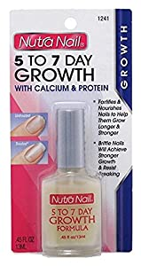 Nutra Nail 5 to 7 Day Growth Calcium Formula, 0.45 Fluid Ounce
