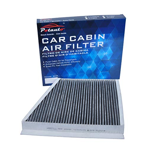 POTAUTO MAP 4005C (CF9785) Replacement Activated Carbon Car Cabin Air Filter for MERCEDES-BENZ, CLS Class, E Class (Upgraded with Active Carbon) (Napa To Fram Air Filter Cross Reference)