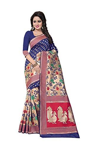 Tradizionale Blu Da Nozze Di Donne Le Sari Indossare Indiani Sari Etnica Per Facioun Partito Sari Progettista Bwnfr6qB7x