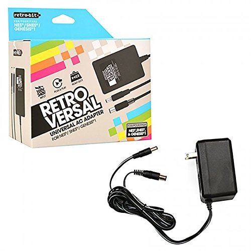 Retro Bit Universal 3 in 1 AC Adapter - Retro 30 Warehouse
