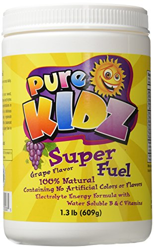 Pure Kidz Super Fuel Electrolyte Drink Mix, Grape, 1.3 Pound by Pure Kidz