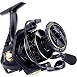 PLUSINNO Fishing Reel, 9 +1BB Spinning Reel, Ultra Smooth Powerful, Lightweight Graphite Frame, CNC Aluminum Spool for Saltwater Freshwater