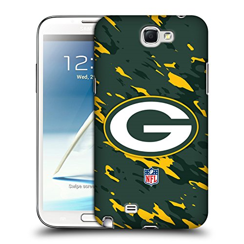 Official NFL Camou Green Bay Packers Logo Hard Back Case for Samsung Galaxy Note 2 II N7100