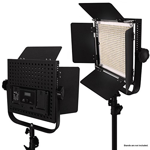Good Limostudio 2 Pack Led 600 Photographic Lighting Panel With