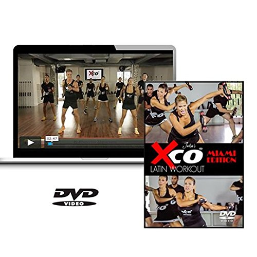 Xco Latin Workout by Jackie Miami Edition DVD + Xco Trainers - Combo Package by Xco Latin Workout by Jackie