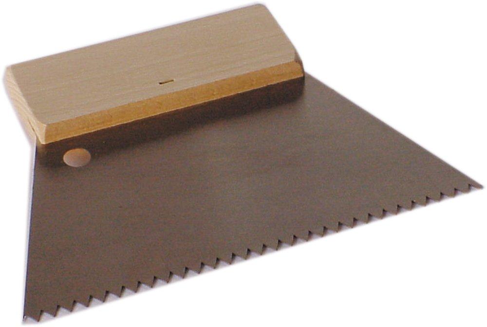 B4-5x10,3mm Holzr/ücken grob,B4 Haromac 38320010 Zahnspachtel 180mm