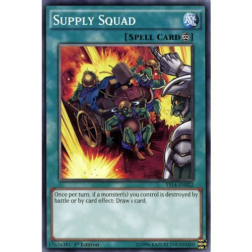 YuGiOh : YS14-EN022 1st Ed Supply Squad Common Card