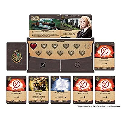 USAOPOLY Hogwarts Battle - The Monster Box of Monsters Expansion Card Game: Game: Toys & Games