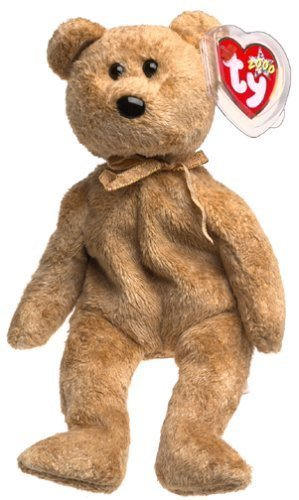 2c55c8e7024 Image Unavailable. Image not available for. Color  Ty Beanie Babies - Cashew  the Bear ...