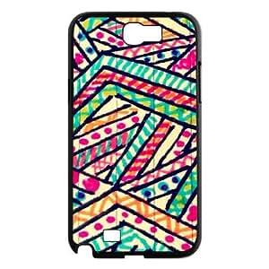 Pattern & Illustration Samsung Galaxy Note 2 Case Black Yearinspace979206