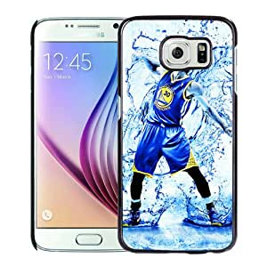 New Unique And Popular Samsung Galaxy S6 Case Designed With Stephen Curry basketball Black Samsung S6 Cover