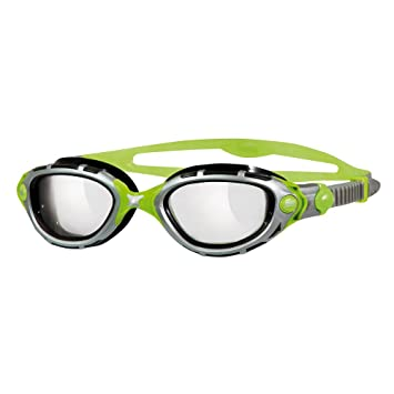 Zoggs Predator Flex Reactor Titanium Gafas de Natación, Hombre, Negro/Verde, Única: Amazon.es: Deportes y aire libre