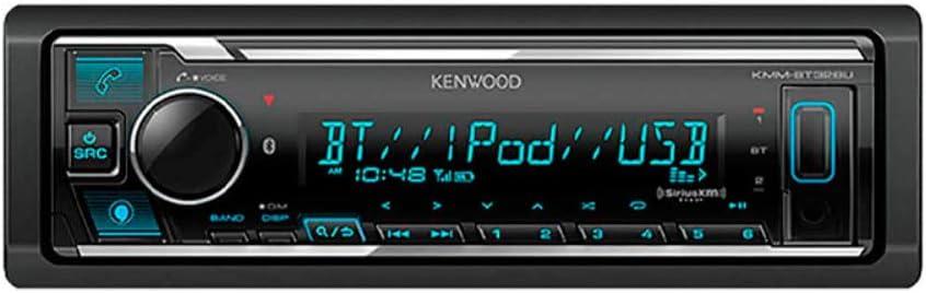Kenwood Kmm Bt328u 50w Max 1 Din Siriusx 4 Ch Digitaler Elektronik