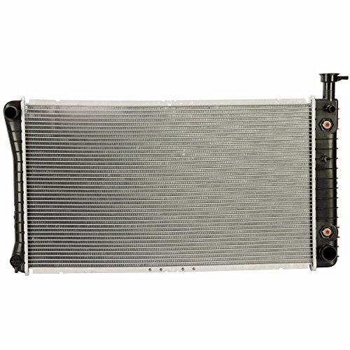 Klimoto Brand New Radiator fits Chevrolet G10 G20 G30 GMC G1500 G2500 G3500 4.3L V6 5.0L 5.7L V8 W/O EOC KLI1477