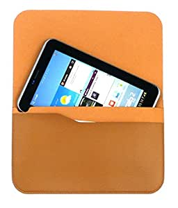 Samsung Genuine Castaño Moreno Premium Horizontal Multi Bolsillo Folio Caso / Case Carcasa Funda / Bolsa Bulk Pack Apropiado Para Galaxy Tab 3 7.0 Lite + Negro Stylus - fundas para teléfonos móviles