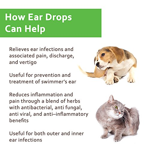 Amazon Com Naturpet Ear Drops Natural Ear Infection Medicine For