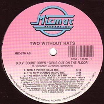 Two Without Hats B D V Count Down Girls Out On The Floor