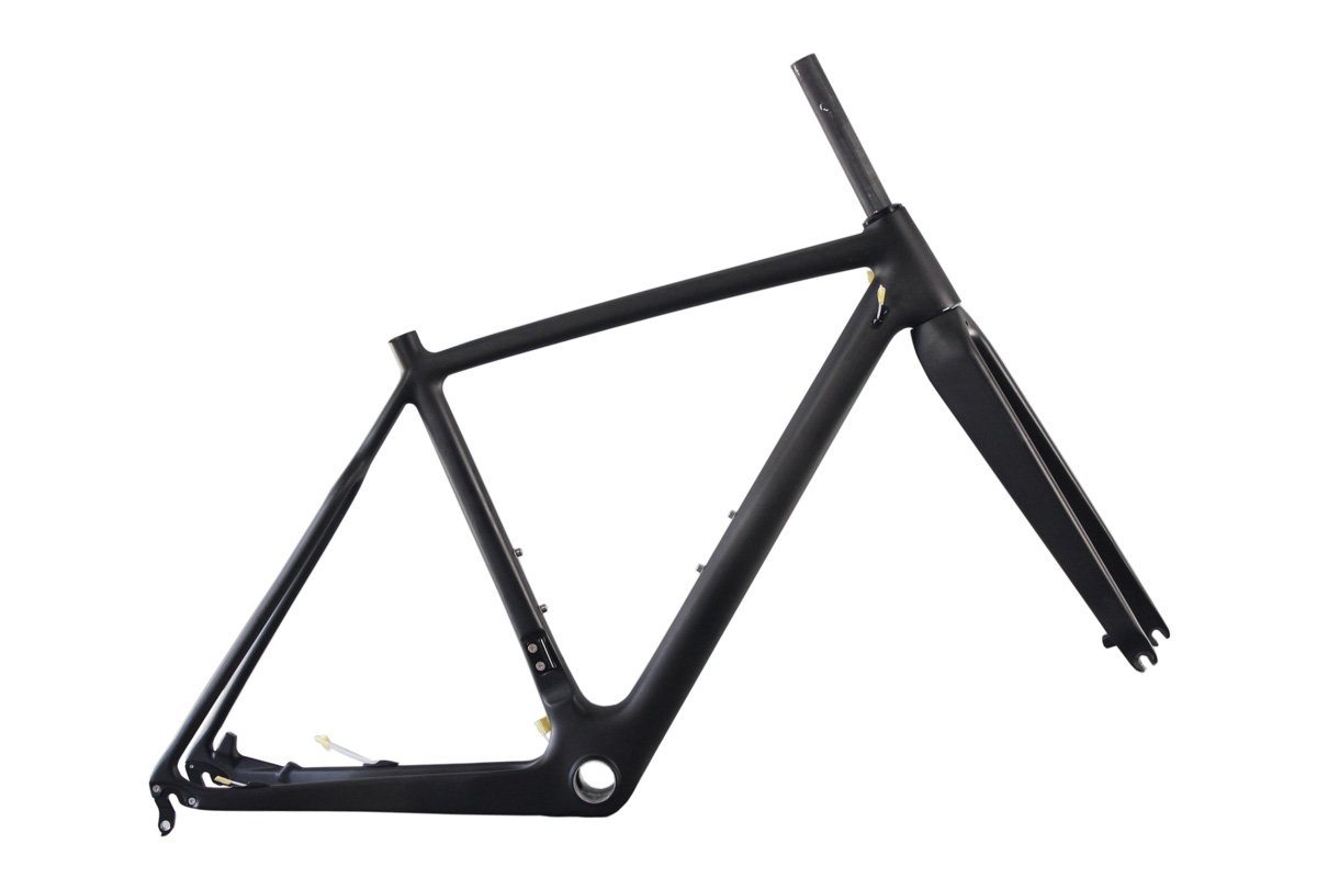 ICAN Carbon Fiber Cyclocross Bike Frame 50 58cm BB86 & Di2 Disc Brake