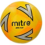 Mitre Impel Training Football Without Ball Pump, Yellow, Size 4