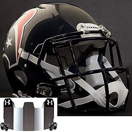 f663e5cc Amazon.com : Riddell Houston Texans NFL Authentic Football Helmet ...