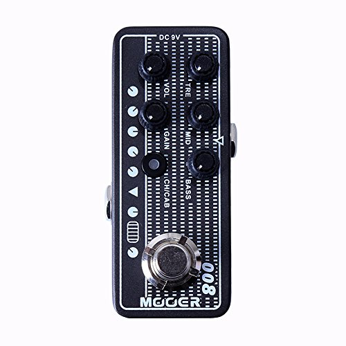 MOOER Guitar Digital Preamp (008 Cali-MK 3) by MOOER