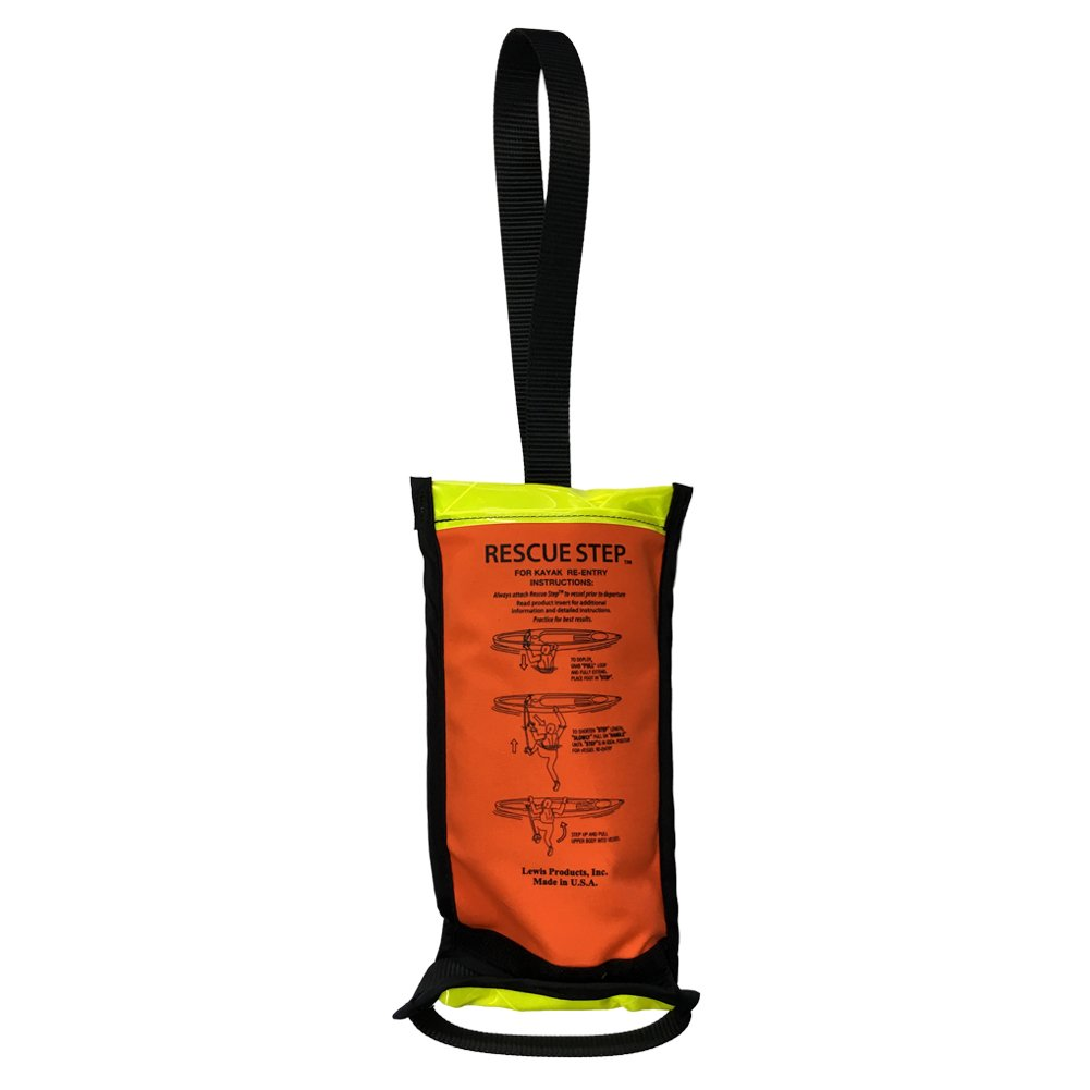Rescue Steps for Kayaks - Compact Boarding Rope Ladder for Kayak (Yellow/Black)