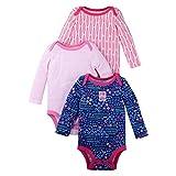 LAMAZE Organic Baby Girl, Boy, Unisex Bodysuits, Blue, 9M