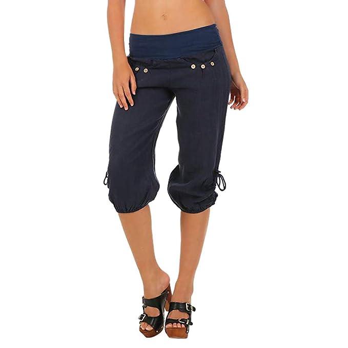 Gusspower Mujer Pantalones de Yoga Talla Grande Suave ...
