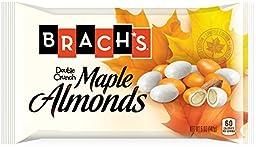 Brach\'s Double Crunch Maple Almonds Candy, 6 Ounce Bag