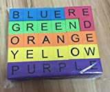 Spelling Words Soft Blocks. Teaching Colors and Spelling of Color Words. Multiple Lessons Per Set. Identify, Spell, Count, 30 Soft Blocks. Designed By Special Education Teacher For School Readiness.