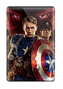 Hot New 2011 Captain America First Avenger Case Cover For Ipad Mini/mini 2 With Perfect Design