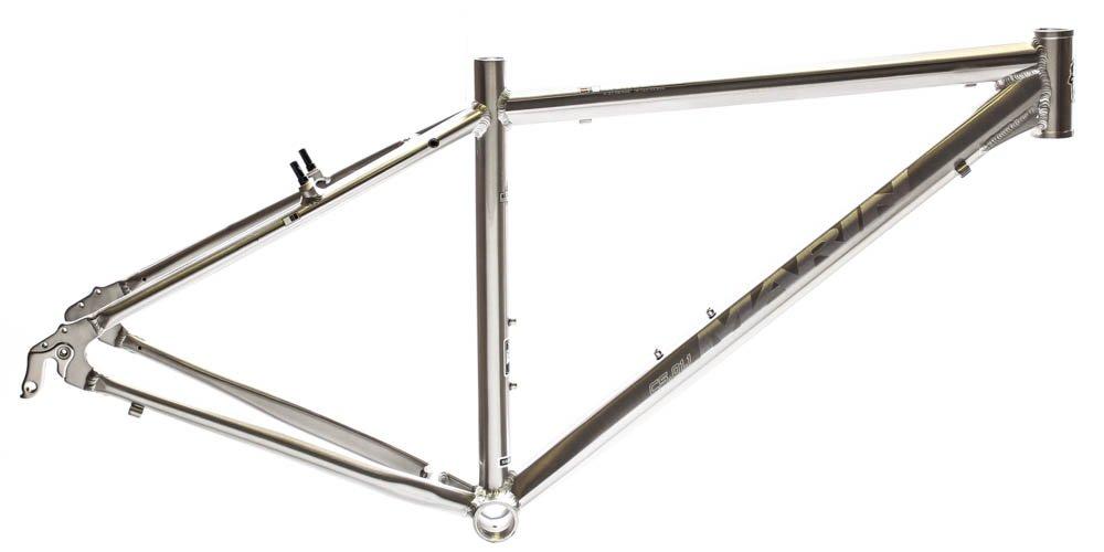 15.5'' MARIN SAN ANSELMO Hybrid City 700c Bike Frame Silver Alloy V-Brake NOS NEW