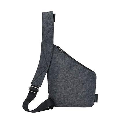 Amazon.com : JingZhou Shoulder Bags for Men Waterproof Nylon ...