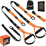 QonQuill BodyWeight Fitness Training Kit | Resistance Straps Trainer for Full Body Strength|...