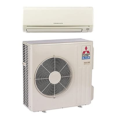 Mitsubishi MZ-D30NA - 30,700 BTU 14.5 SEER MR SLIM Wall Mount Ductless Mini Split Air Conditioner Heat Pump 208-230V