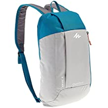 X-Sports Decathlon QUECHUA Kids Adults Outdoor Backpack Daypack Mini Small Bookbags10L (Grey)