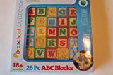 ABC Wooden Blocks 26 Pc Preschool Collection