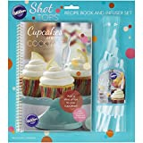 Wilton Shot Tops Cupcake Recipe Book and Infuser