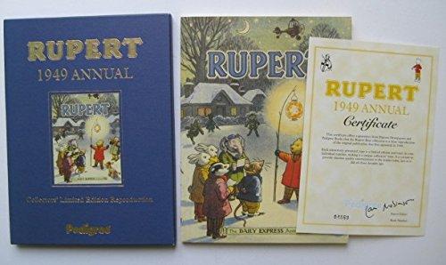 Rupert Annual 1949 by Pedigree Books (Image #1)