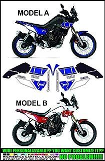 Tankschutz f/ür den T/én/ér/é 700 Evita Kraftstoffbeh/älter der den Rei/ßverschluss der Jacke kratzt den Lack des Kraftstofftanks lang anhaltend gummiert mit Yamaha Logo