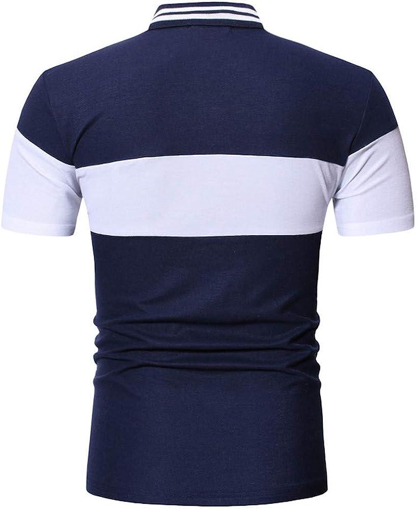 Sylar Polos Manga Corta Hombre Color Sólido Camisas Slim Fit Camiseta Deporte Golf Polo Shirt Verano Primavera T-Shirt Oficina Camisetas Hombre Manga Corta: Amazon.es: Ropa y accesorios