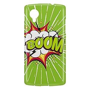 Loud Universe Nexus 5 Boom Print 3D Wrap Around Case - Green