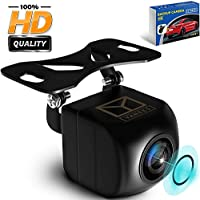 Car Backup Camera - HD 1080p - Rear View Camera - Waterproof Reverse Auto Back Up Car Camera - High Definition - Best 170 ° Wide View Angel - Fits All Vehicles by Yanees