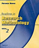 Readings in Research Methodology, Florence S. Downs, Sandra Downs, 0781719240