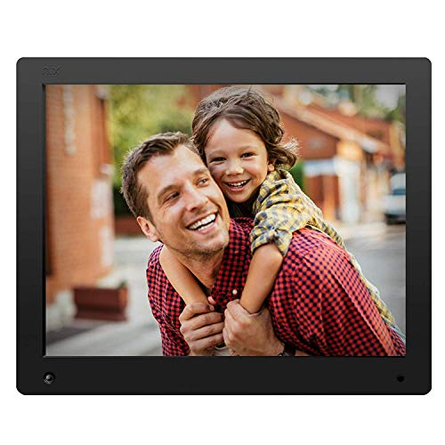 NIX Advance Digital Photo Frame 15 inch X15D. Electronic Photo Frame USB SD/SDHC. Digital Picture Frame with Motion Sensor. Remote Control and 8GB USB Stick Included