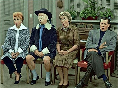 Historical Photo Collection 8 x 10 Photo I Love Lucy Cast Color On High Qquality Fiji Film Paper
