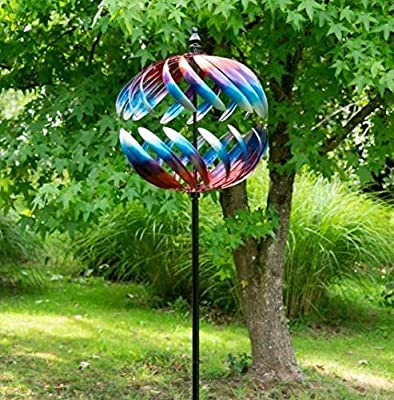 Jonart Windsculpture SP600 - Globo de adorno para jardín: Amazon.es: Hogar