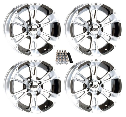 "ITP 14"" SS112 Black Golf Cart Wheels/Rims [14SS34] EZ-GO & Club Car"
